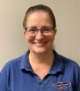 Asst. Branch Manager Shirley Buracker at Culpepe Petroleum Elkwood Location